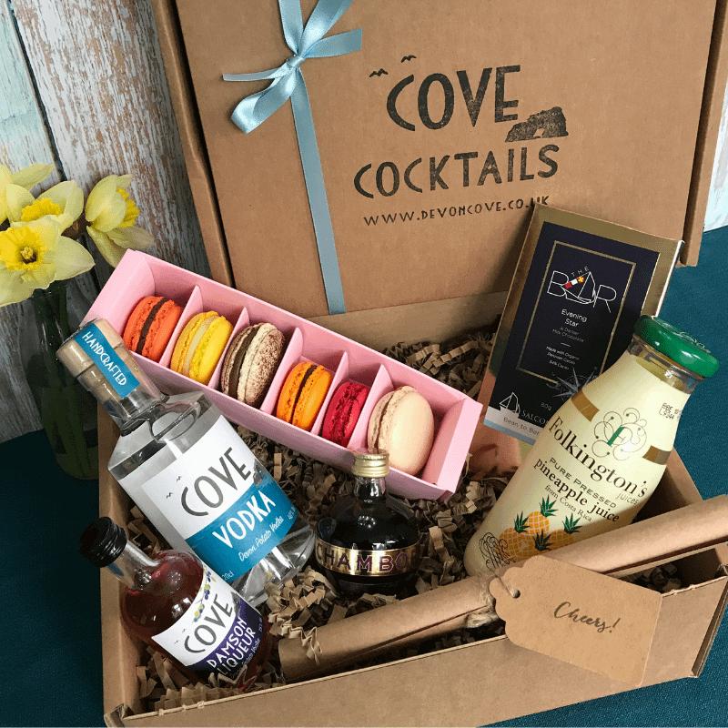 Cove Vodka French Martini Easter Gift Box