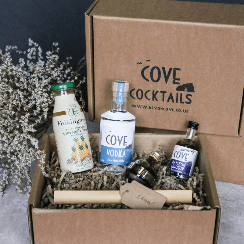 Devon Cove Vodka French Martini Cocktail Kit