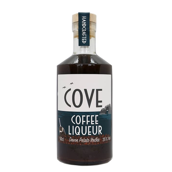 Large bottle of Cove Coffee Liqueur