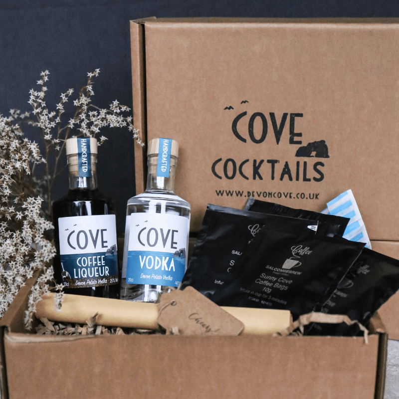 Devon Cove Vodka Espresso Martini Cocktail Kit