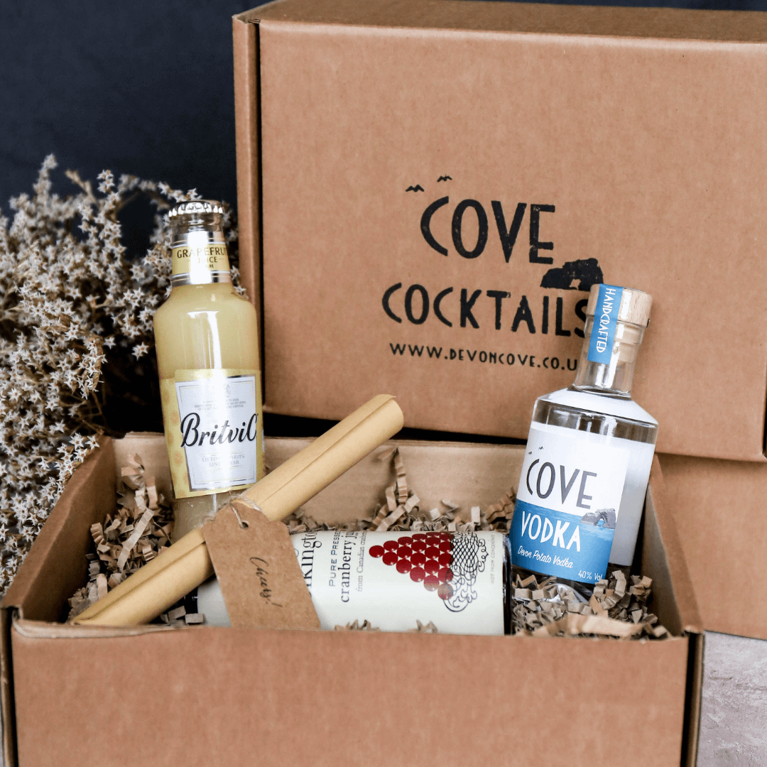 Cove Vodka Sea Breeze