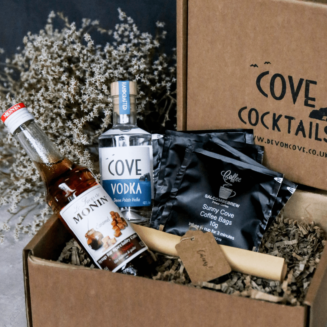 Cove Vodka Iced Caramel Coffee